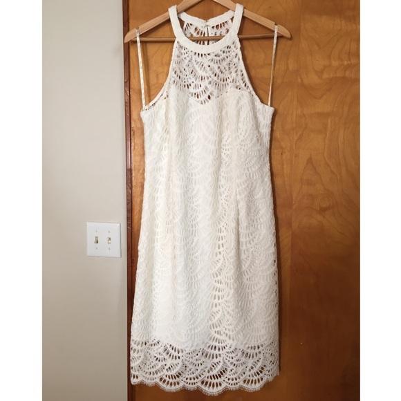 Lilly Pulitzer Kenna Dress White Size 14 Nwt Nwt
